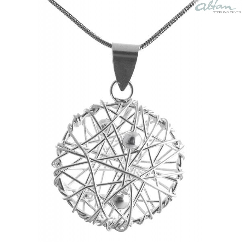 Silber anhänger  Silberschmuck Anhänger Kreis - altansilver.de- der Großhandel für ...