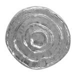Jahressringe - Silber Anhänger plain - poliert