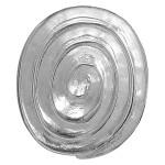 Spirale - Silber Anhänger plain - poliert