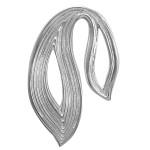 Anhänger - Silber Anhänger plain - poliert