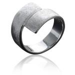 Bandring - Silberring plain - poliert