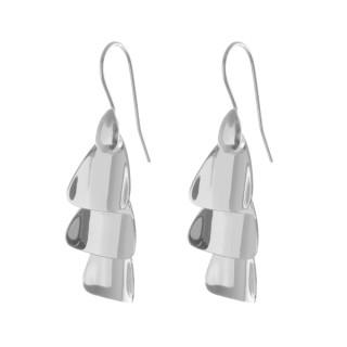 Elder - Silber Ohrringe plain - poliert