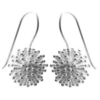 Ohrring Igel - Silber Ohrringe plain - poliert