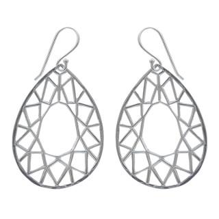 Ohrring Spider - Silber Ohrringe plain - poliert