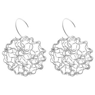 Ohrring - Silber Ohrringe plain - poliert