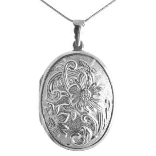 Shapla - Silber Medallion - poliert