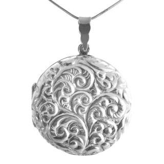 Romdoul - Silber Medallion - poliert
