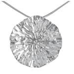 Lily - Silber Anhänger plain - poliert
