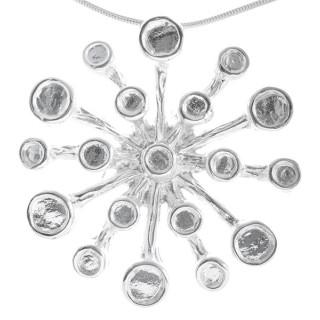 Candytuft - Silber Anhänger plain - poliert