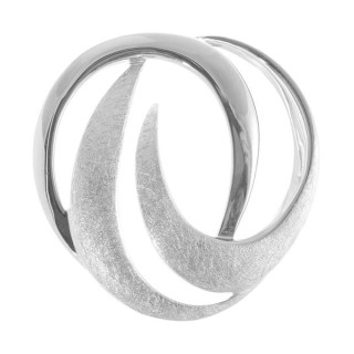 Ceibo - Silber Anhänger plain - gebürstet/poliert