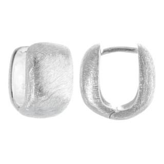 Leon - Silber Creolen - poliert