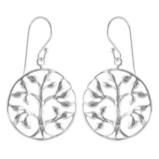 Peric - Silber Ohrringe plain - poliert