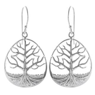 Cisan - Silber Ohrringe plain - poliert