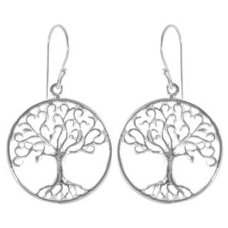 Coryda - Silber Ohrringe plain - poliert