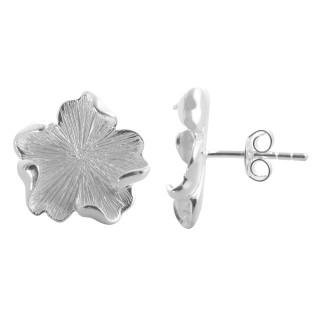 Dictam - Silber Ohrringe plain - poliert