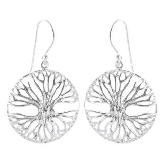 Trades - Silber Ohrringe plain - poliert