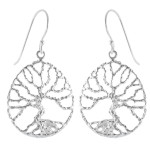 Lobula - Silber Ohrringe plain - poliert