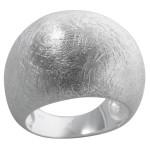 Asarum - Silberring plain - gebürstet