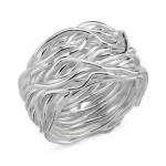 Hesperis - Silberring plain - poliert