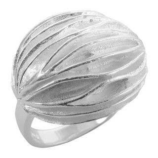 Mentze - Silberring plain - poliert