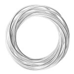 Campanul - Silberring plain - poliert