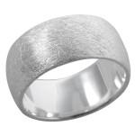 Sinny - Silberring plain - gebürstet