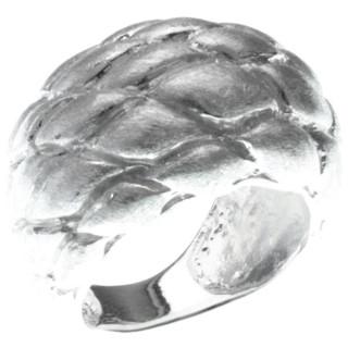 Buphthal - Silberring plain - gebürstet