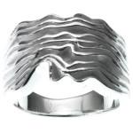Dougla - Silberring plain - poliert