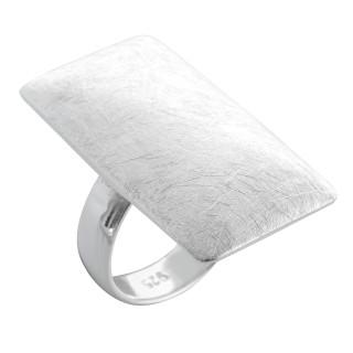 Armeria - Silberring plain - gebürstet/poliert