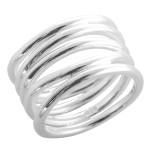 Glechom - Silberring plain - poliert