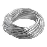 Nychia - Silberring plain - poliert