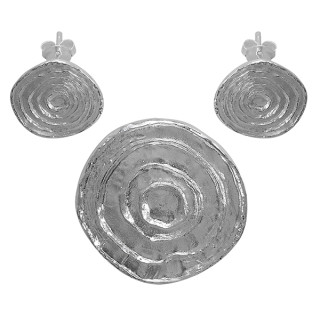 Phytolac - Silber Set plain - poliert