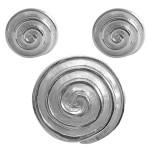 Pilea - Silber Set plain - poliert