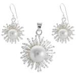 Fritill - Silber Set Perle - poliert