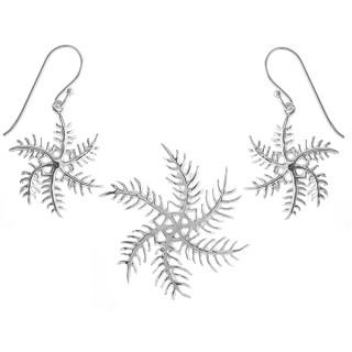 Dimor - Silber Set plain - poliert