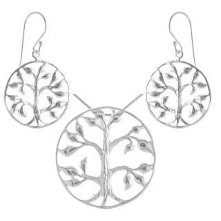 Murraya - Silber Set plain - poliert