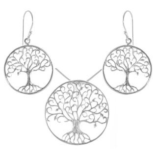 Orchis - Silber Set plain - poliert