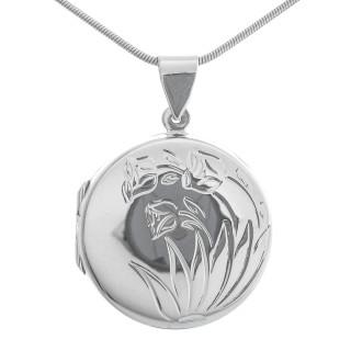 Agnes - Silber Medallion - poliert