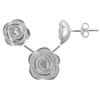 Platy - Silber Set plain - poliert
