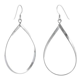 Brendan - Silber Ohrringe plain - poliert