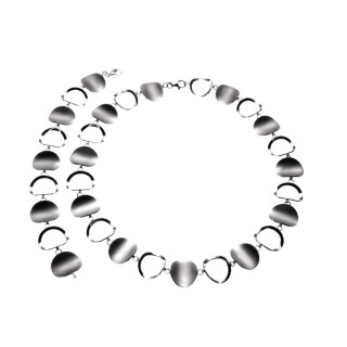 S59200-Silber Collier-Armband