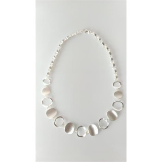 S61600-Silber Collier-Armband