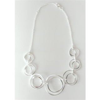 S90400-Silber Collier