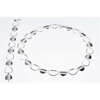 S65900-Silber Collier-Armband