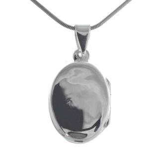Pan - Anhänger - poliert - Silber Medallion - poliert