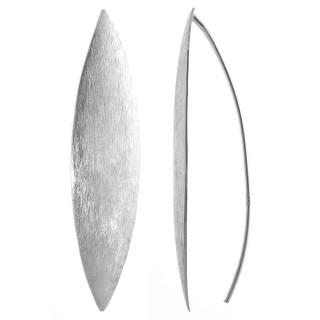 Gallis - Ohrring - mattiert