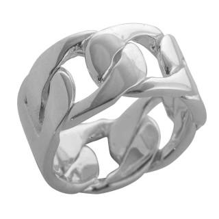 Lamium - Ringe - poliert - Silberring plain - poliert