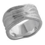 Hemero - Ringe - gebürstet und poliert - Silberring...