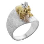 Matric - Ringe - gebürstet und poliert - Silberring...