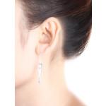 Pepperoni - Silber Ohrringe plain - poliert